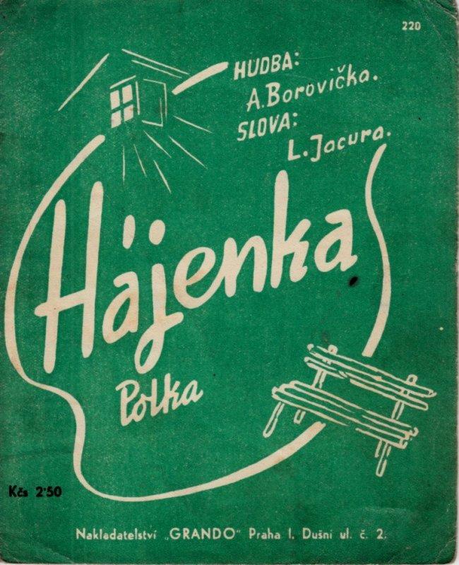 Borovička A.: Hájenka - polka