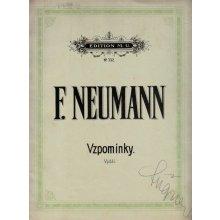 Neumann Fr.: Vzpomínky - 3 písně op.25