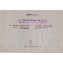 Brodszky Ferenc: Klassiker für gitarre -