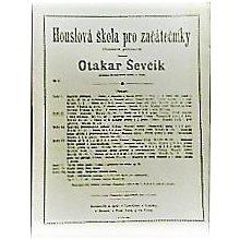 Ševčík Otakar: Houslová škola pro začátečníky op.6 sešit II.