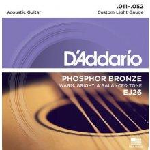 D'Addario EJ26 struny na akustickou kytaru