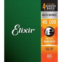 Elixir 14502 .045-.100 struny aku bass
