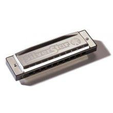 Hohner Silver Star Bb dur foukací harmonika