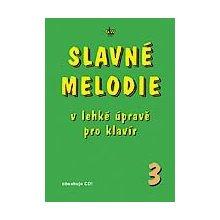 SLAVNÉ MELODIE v lehké úpravě pro klavír 3. díl+CD