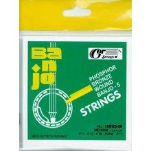 Gorstrings Banjo 5 strunné struny Phosphor bronze 0,011