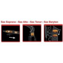 Gewa Vícedílné dusítko na hubičku, eso a ozvučník dusítko Saxmute saxofon - tenor