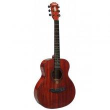Stanwood PRO 3/4 akustická kytara červená