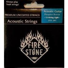 Gewa 665535 Fire&Stone - struny 12 strunná aku kytara 0,010 - 0,047