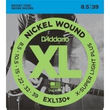 D'Addario EXL130+ struny elektrická kytara .0085-.039