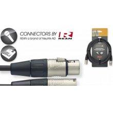 Stagg NMC6R, kabel XLR/XLR, 6m