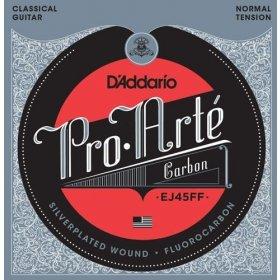 D'Addario EJ45FF Pro-Arté Carbon, Dynacore Basses, Normal Tension