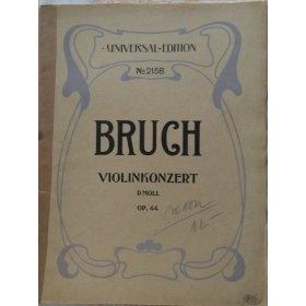 Bruch Max: Violinkonzert d-moll op.44