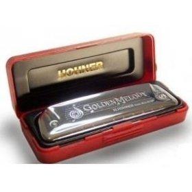 Hohner Golden Melody G foukací harmonika