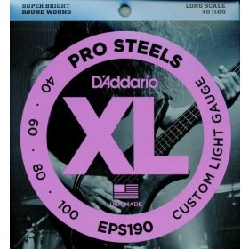 D Addario EPS190 basové struny
