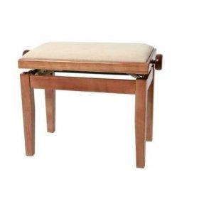 GEWA Piano stolička Deluxe Třešeň lesk