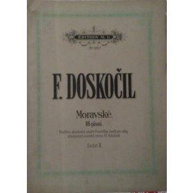 Doskočil F.: Moravské. 16 písní-II.sešit
