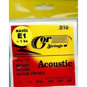Gor strings Acoustic 2B6-92 struny na kytaru