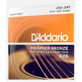 D'Addario EJ15 struny pro akustickou kytaru