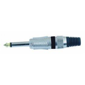 Omnitronic Jack 6,3mm mono ROAD METAL