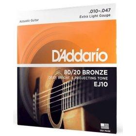 D'Addario EJ10 struny na kytaru