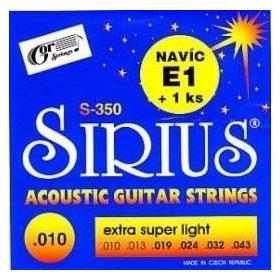 Gor Sirius S-350 kytarové struny 010