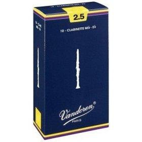 Vandoren classic B klarinetové plátky tvrdost 1