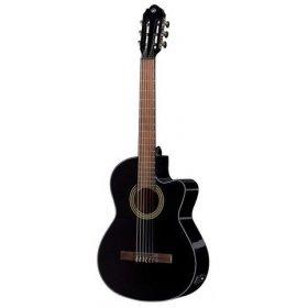 GEWA E-akustická, klasická kytara Student black