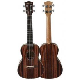 Aiersi SU206 Java ebony body ukulele tenorové