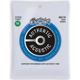 MARTIN Authentic SP 80/20 Bronze Extra Light - 3 Packs