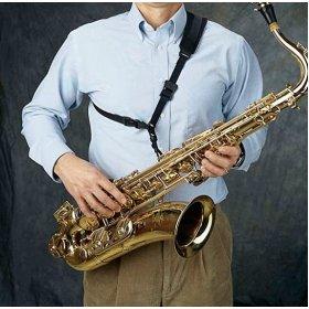 Neotech Neo Sling, Black, Swivel Hook Saxophone Strap
