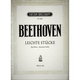 Beethoven Ludwig van: Leichte Stücke - Klavier solo