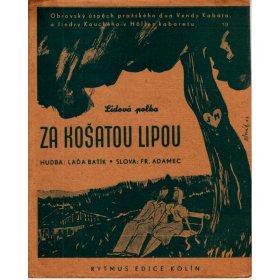 Batík Ladislav: Za košatou lipou - lidová polka