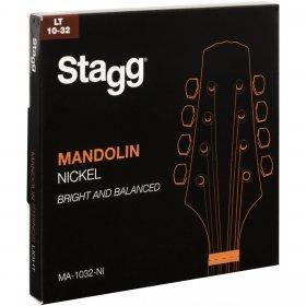 Stagg MA-1032-NI, sada strun na mandolínu
