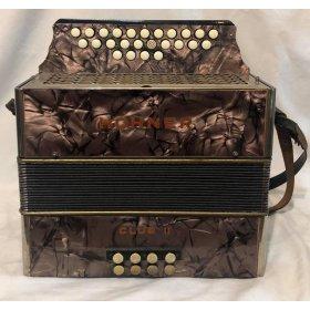 Hohner Club II diatonická harmonika