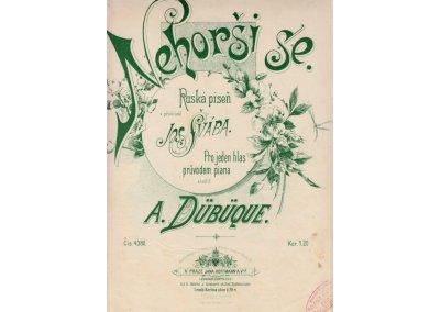 Dübüque A.: Nehorši se-ruská píseň