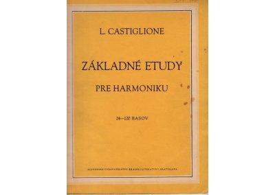 Castiglione L.: Základné etudy pre harmoniku