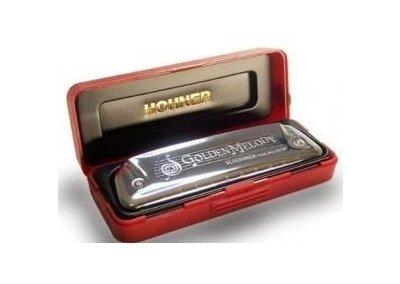 Hohner Golden Melody D foukací harmonika