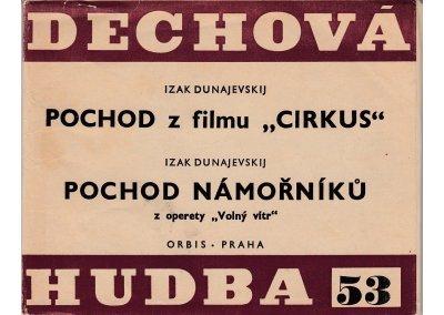 """Dunajevskij Izak: Pochod z filmu """"Cirkus"""" + Pochod námořníků z operety """"Volný vítr"""""""