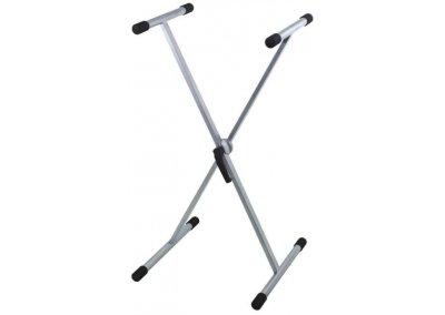 Klávesový stojan X Easy Gear stříbrný