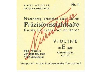 Gewa Karl Weidler houslové struny 4/4