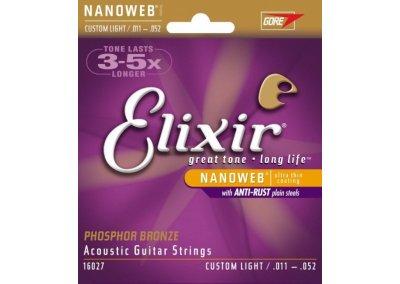 Elixir 16027 .011 - .052 struny