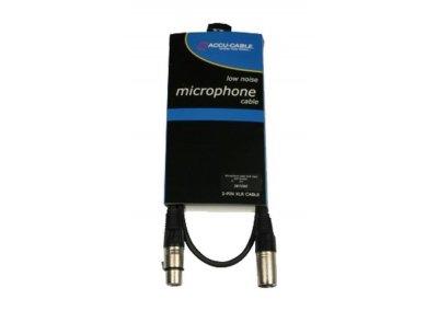 Mikrofonní kabel XLR/XLR 1m