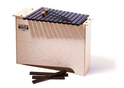Hluboký bass Xylophon,GBX GB c-a1, 1 par paliček SCH 15