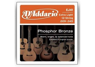 D'Addario EJ41 struny pro 12 strunnou kytaru