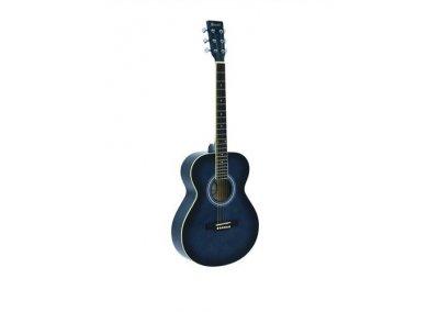 Dimavery AW-303- kytara typu western, modrá