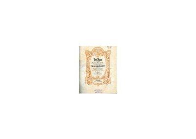 Mozart W.A. : Don Juan - opera o 2 dějstvích