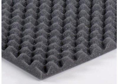 Akustický molitan 2,5 cm vlnky