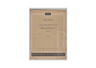 Blatný Josef: Instruktivní skladbičky - sešit II