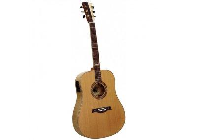 GILMOUR Queen EQ MkII - masivní akustická kytara