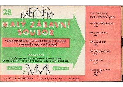 Malý zábavní soubor 28: Josef PONCAR